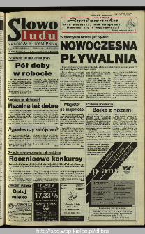 Słowo Ludu 1995, XLV, nr 139 (Nad Wisłą i Kamienną)