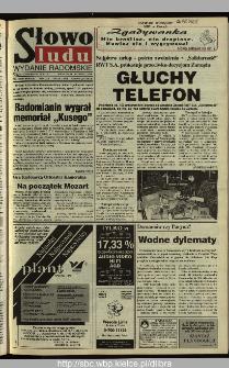 Słowo Ludu 1995, XLV, nr 139 (radomskie)