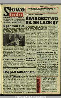 Słowo Ludu 1995, XLV, nr 142 (radomskie)