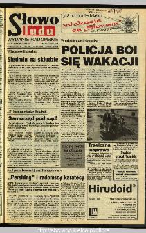 Słowo Ludu 1995, XLV, nr 147 (radomskie)