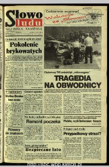 Słowo Ludu 1995, XLV, nr 152 (Nad Wisłą i Kamienną)