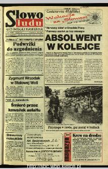 Słowo Ludu 1995, XLV, nr 154 (Nad Wisłą i Kamienną)