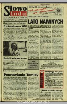 Słowo Ludu 1995, XLV, nr 160 (radomskie)
