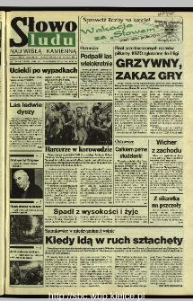 Słowo Ludu 1995, XLV, nr 162 (Nad Wisłą i Kamienną)
