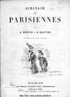 Almanach des Parisiennes