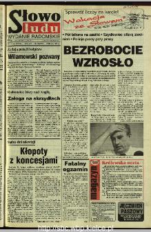 Słowo Ludu 1995, XLV, nr 166 (radomskie)