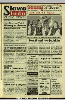 Słowo Ludu 1995, XLV, nr 169 (Nad Wisłą i Kamienną)