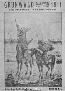 Grunwald : kalendarz na Królestwo Polskie i Litwę na 1911 rok.