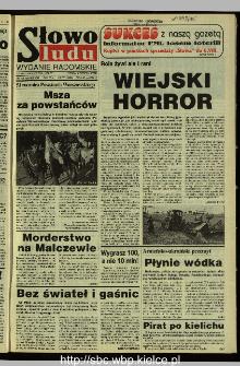 Słowo Ludu 1995, XLV, nr 177 (radomskie)