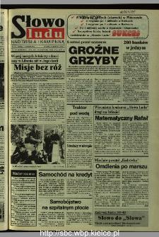 Słowo Ludu 1995, XLV, nr 182 (Nad Wisłą i Kamienną)