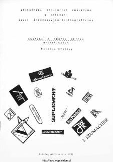 Książki z nowych oficyn wydawniczych: katalog wystawy.