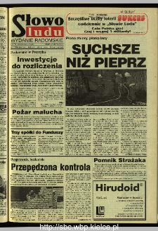 Słowo Ludu 1995, XLV, nr 183 (radomskie)