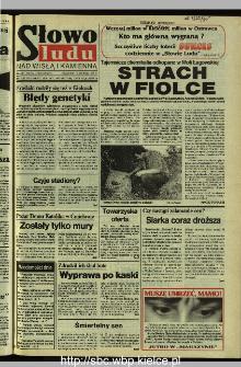 Słowo Ludu 1995, XLV, nr 184 (Nad Wisłą i Kamienną)