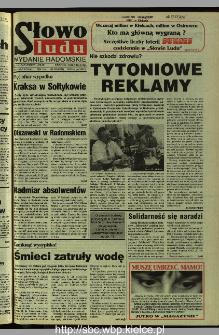 Słowo Ludu 1995, XLV, nr 184 (radomskie)