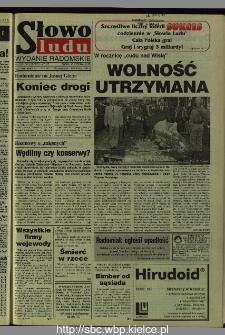 Słowo Ludu 1995, XLV, nr 188 (radomskie)