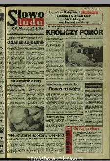 Słowo Ludu 1995, XLV, nr 189 (Nad Wisłą i Kamienną)