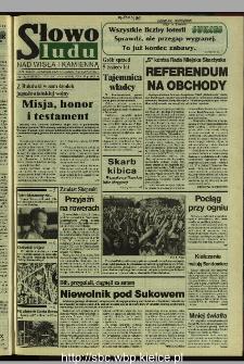Słowo Ludu 1995, XLV, nr 191 (Nad Wisłą i Kamienną)