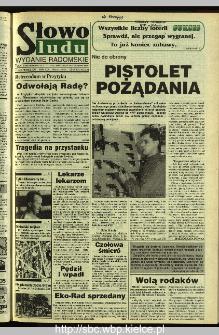 Słowo Ludu 1995, XLV, nr 191 (radomskie)