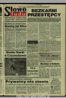 Słowo Ludu 1995, XLV, nr 192 (Nad Wisłą i Kamienną)