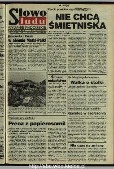 Słowo Ludu 1995, XLV, nr 193 (radomskie)