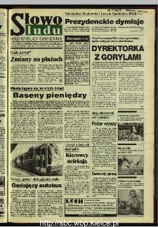 Słowo Ludu 1995, XLV, nr 197 (Nad Wisłą i Kamienną)
