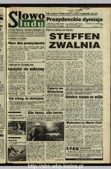 Słowo Ludu 1995, XLV, nr 197 (radomskie)