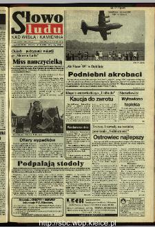 Słowo Ludu 1995, XLV, nr 198 (Nad Wisłą i Kamienną)