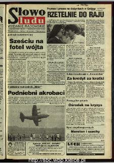 Słowo Ludu 1995, XLV, nr 198 (radomskie)