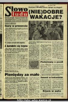 Słowo Ludu 1995, XLV, nr 199 (radomskie)