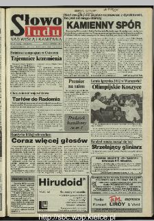 Słowo Ludu 1995, XLV, nr 206 (Nad Wisłą i Kamienną)