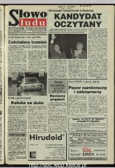 Słowo Ludu 1995, XLV, nr 206 (radomskie)