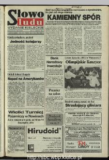 Słowo Ludu 1995, XLV, nr 206
