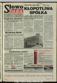 Słowo Ludu 1995, XLV, nr 207 (radomskie)