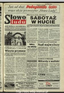 Słowo Ludu 1995, XLV, nr 210 (Nad Wisłą i Kamienną)