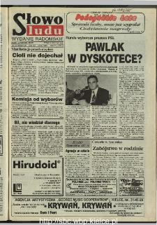 Słowo Ludu 1995, XLV, nr 224 (radomskie)