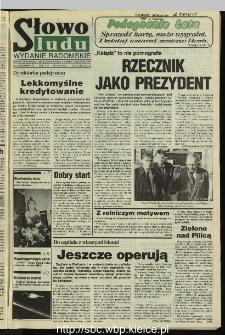 Słowo Ludu 1995, XLV, nr 227 (radomskie)