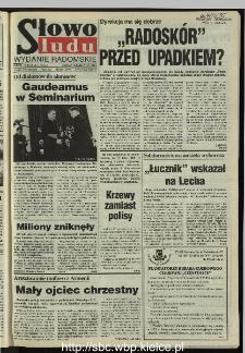 Słowo Ludu 1995, XLV, nr 230 (radomskie)