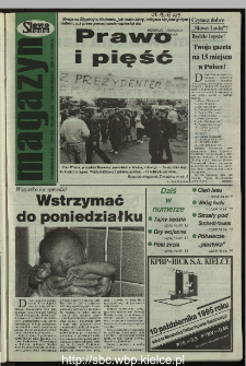 Słowo Ludu 1995, XLV, nr 232 (magazyn)