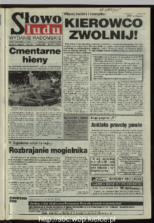 Słowo Ludu 1995, XLV, nr 234 (radomskie)