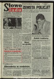 Słowo Ludu 1995, XLV, nr 237 (radomskie)