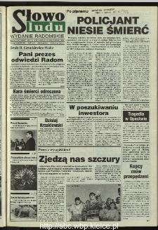 Słowo Ludu 1995, XLV, nr 239 (radomskie)