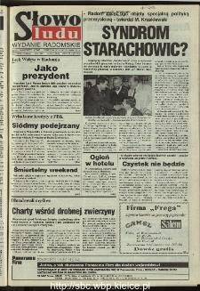 Słowo Ludu 1995, XLV, nr 240 (radomskie)