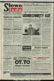 Słowo Ludu 1995, XLV, nr 243 (radomskie)