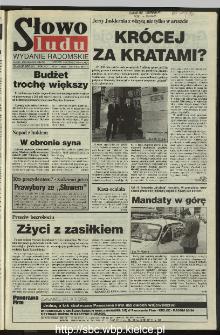 Słowo Ludu 1995, XLV, nr 247 (radomskie)