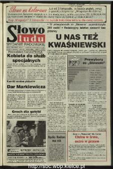 Słowo Ludu 1995, XLV, nr 249 (radomskie)