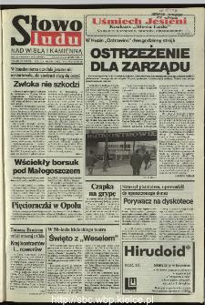 Słowo Ludu 1995, XLV, nr 259 (Nad Wisłą i Kamienną)