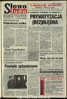 Słowo Ludu 1995, XLV, nr 260 (radomskie)