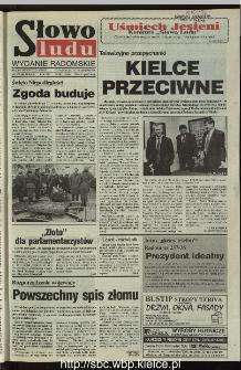Słowo Ludu 1995, XLV, nr 262 (radomskie)