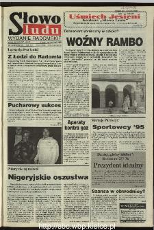 Słowo Ludu 1995, XLV, nr 263 (radomskie)