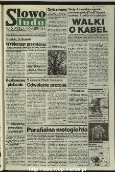 Słowo Ludu 1995, XLV, nr 267 (Nad Wisłą i Kamienną)